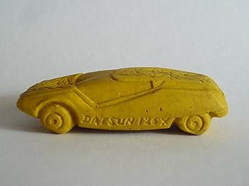 Matchbox Early 70s Rubber Eraser Datsun 126x Yellow Amazon