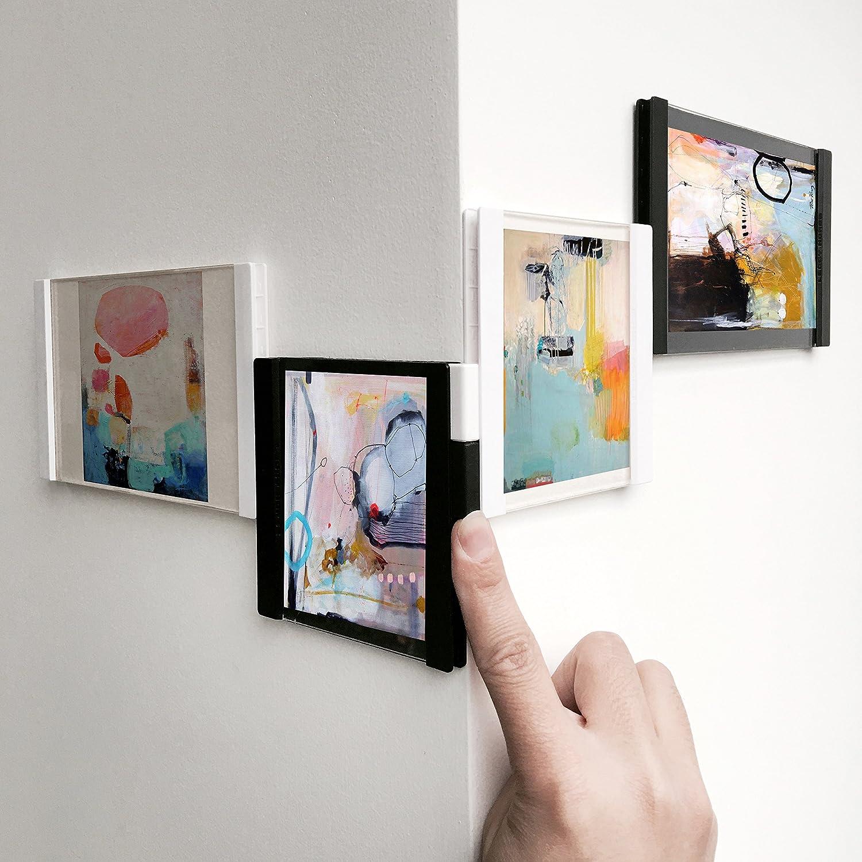 Pusheng Bilderrahmen Flexibel Drehbare Acryl Rahmen Collage 4\