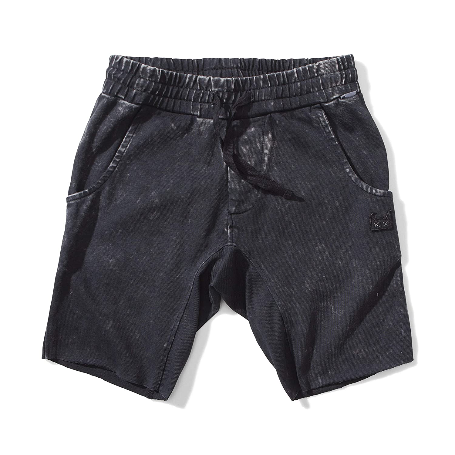 Size 7 Youth Boys Ollie Track Shorts Black Munster Kids Munster