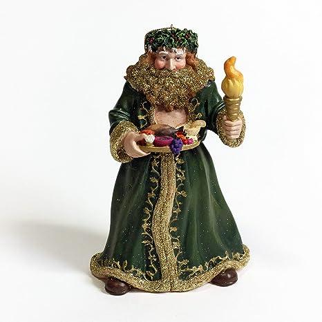 Ghost Of Christmas Present.Kurt Adler Ghost Of Christmas Present Resin Ornament