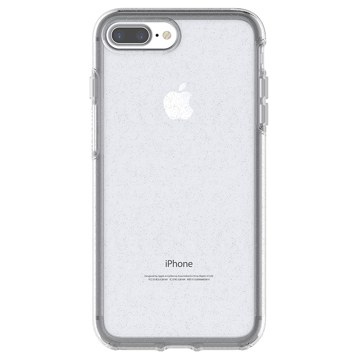 OtterBox SYMMETRY CLEAR SERIES Case foriPhone 8 Plus & iPhone 7 Plus (ONLY) - Retail Packaging - STARDUST (SILVER FLAKE/CLEAR)
