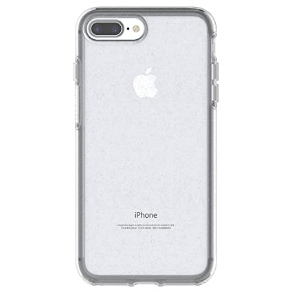 low priced 81594 427fd OtterBox SYMMETRY CLEAR SERIES Case for iPhone 8 Plus & iPhone 7 Plus  (ONLY) - Retail Packaging - STARDUST (SILVER FLAKE/CLEAR)