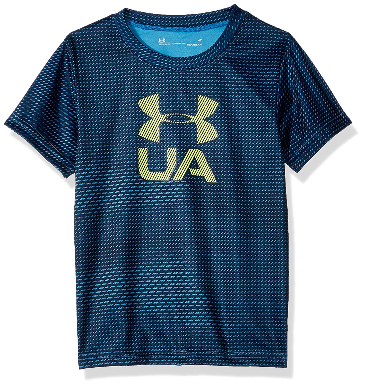 Under Armour Boys' Big Logo Short Sleeve Tee Shirt 2051662