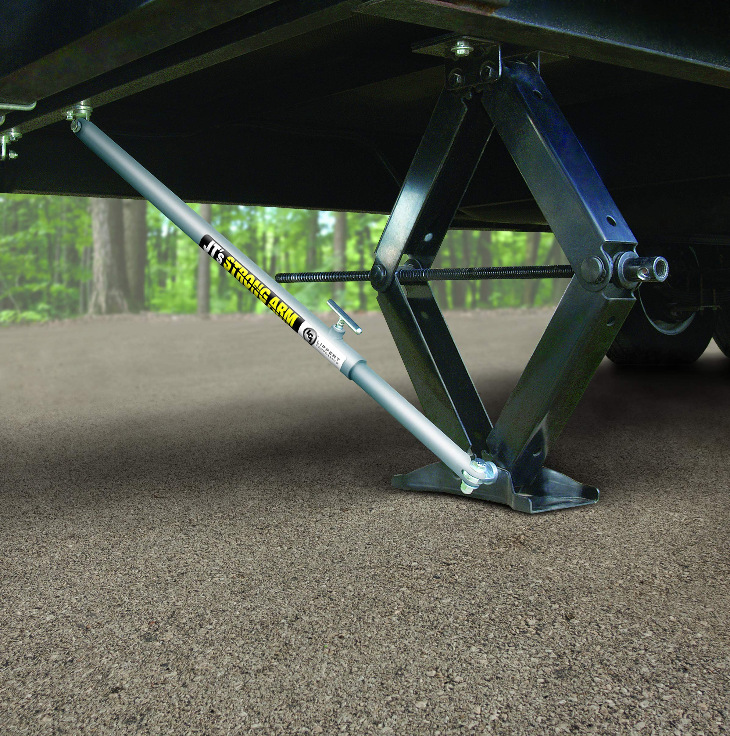 Lippert 191023 JT's Strong Arm Fifth-Wheel Jack Stabilizer Kit by Lippert Components (LIPPC) (Image #2)