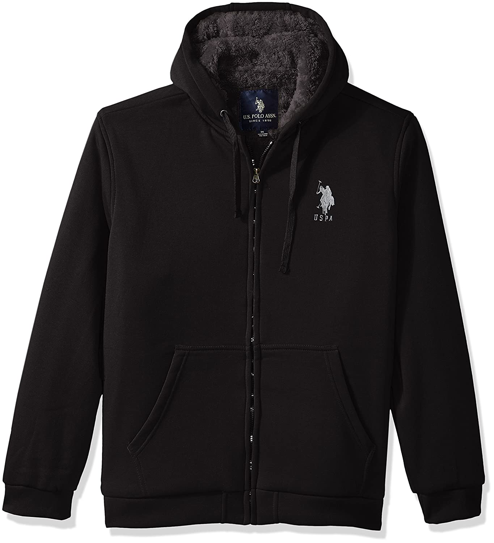 U.S. Polo Assn. OUTERWEAR メンズ B0736BD51F 3X|Black 5516 Black 5516 3X
