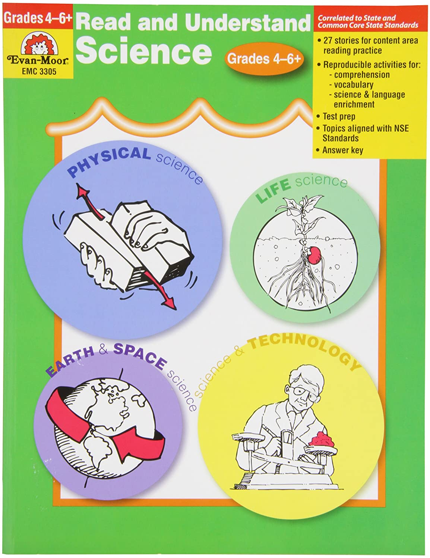 Discount Evan-Moor Read and Understand Science Book, Grades 4 to 6