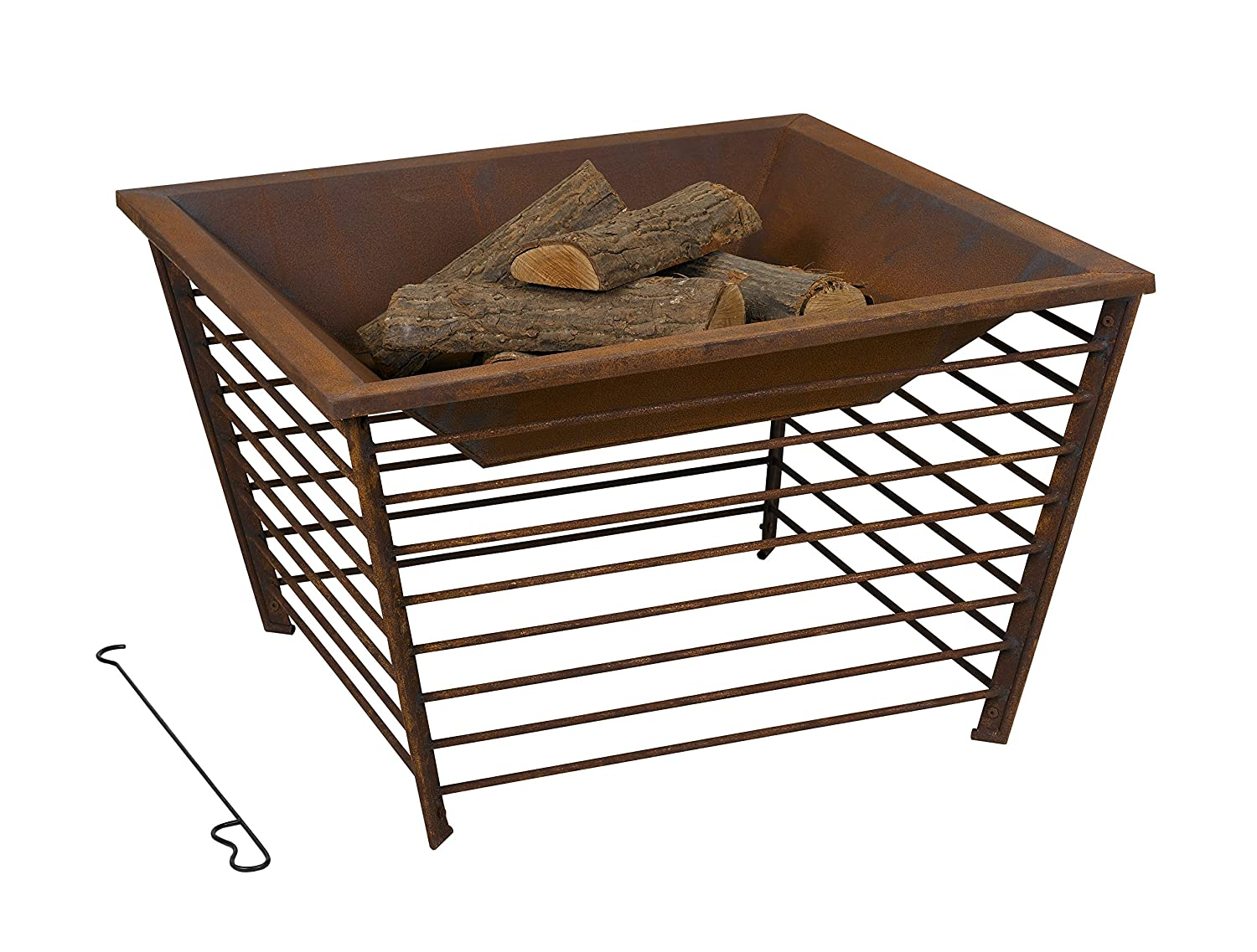 Tepro 1158Anchorage Fire Pit, Rost Rot