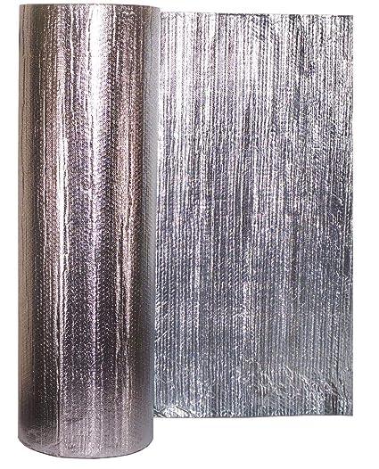 Lámina de aislamiento metálico Solar Bay, 30 m2, color plateado, 2 en 1