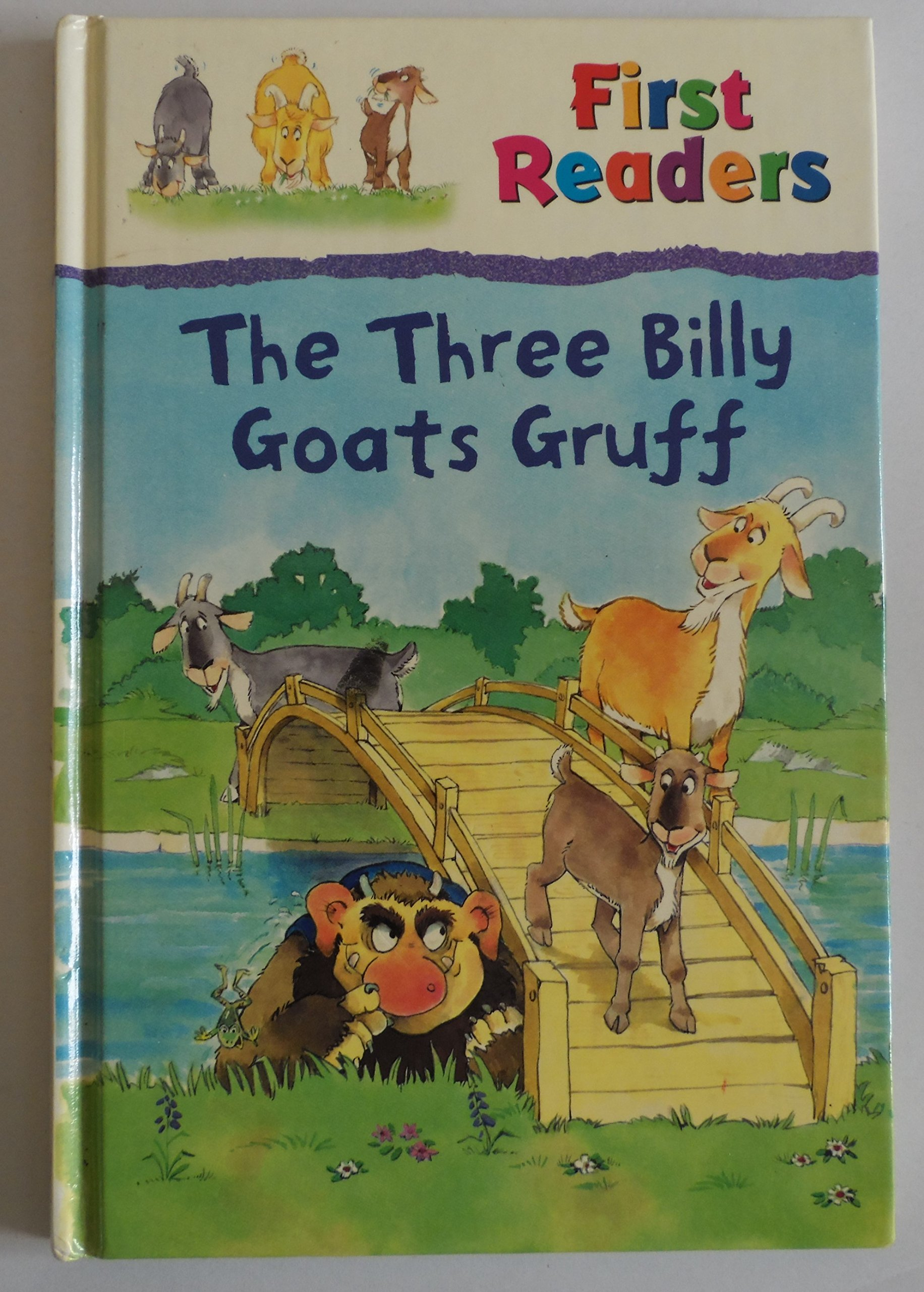 Read Online The Three Billy Goats Gruff (First Readers) PDF