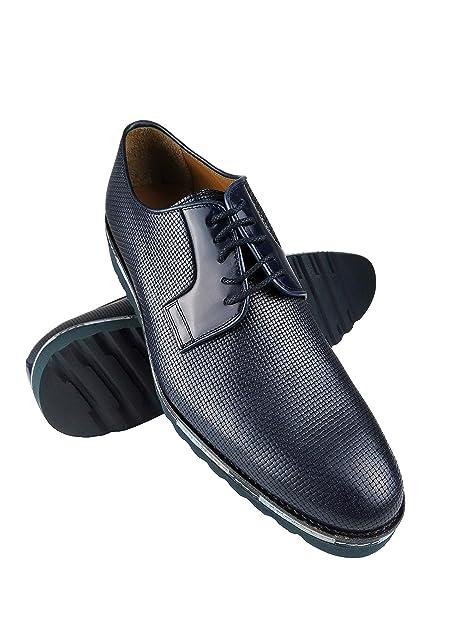 Zerimar Zapatos de Piel para Hombre Zapatos Hombre Elegantes Calzado Hombre  Vestir  Amazon.es  Zapatos y complementos dcd6cc4bd39