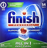 Finish All In 1 Powerball, Fresh 54 Tabs, Dishwasher Detergent Tablets