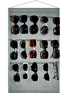 d62cdd0d7 Ikiriska Sunglasses Grey Organizer, Storage, Holder, Display, Stand for 15  Glasses for