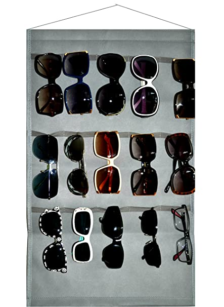 babb4c8d4a Amazon.com  Ikiriska Sunglasses Grey Organizer