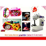 50 in1 Fully Loaded Portable & Compact Mini Sewing Machine With All in One Sewing Kit|