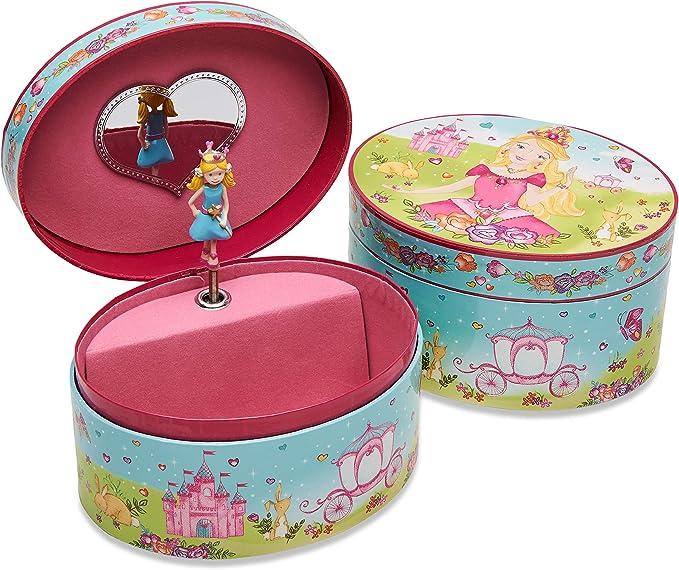 Lucy Locket – Joyero Infantil Ovalado de Princesas con música ...