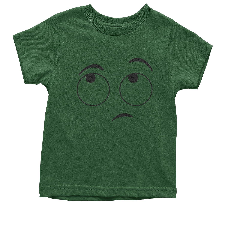 FerociTees Emoticon Eyeroll Funny Eye roll Youth T-Shirt
