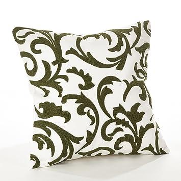 Amazon.com: fennco estilos Pollice Verde Collection Crewel ...