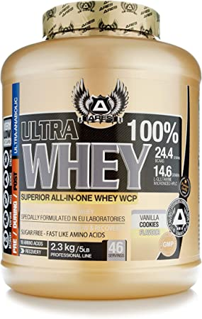 PROTEINA WHEY ULTRA | ARES - 2,3 kg - SUPERIOR ALL-IN-ONE WHEY PROTEIN (Brownie)