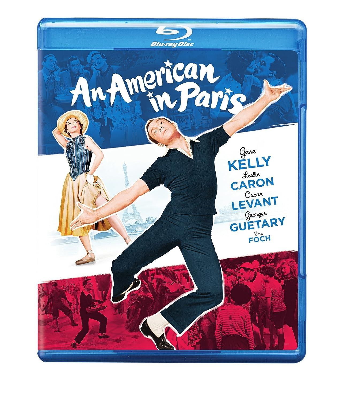 Amazon.com: An American in Paris [Blu-ray]: Gene Kelly, Leslie Caron, Oscar  Levant, Georges Guetary, Nina Foch, Vincente Minnelli: Movies & TV