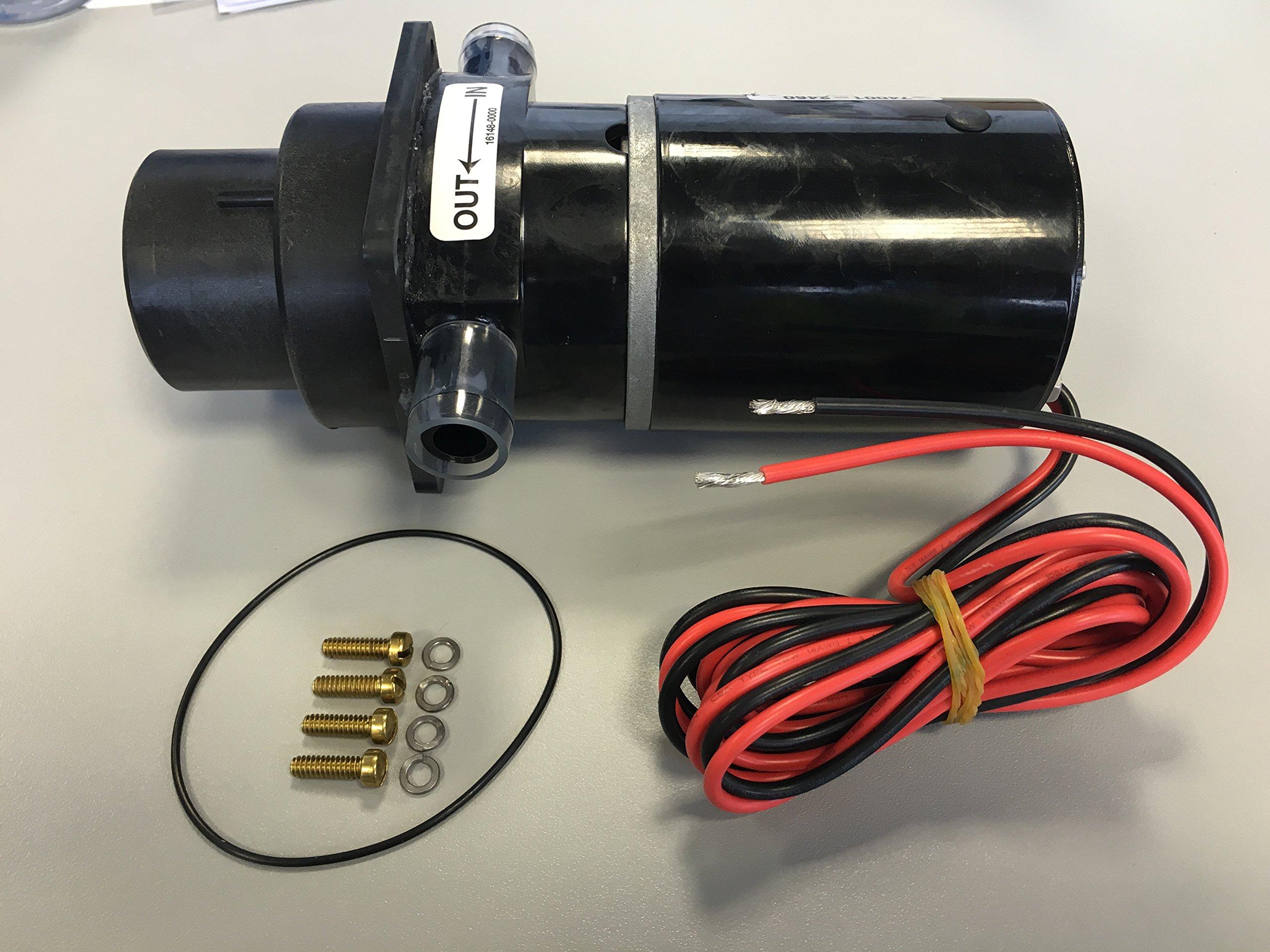 Jabsco 37041-0010 Marine Marine Electric Toilet Macerator Sub Assembly Kit, 12-Volt, 37010-Series,Black