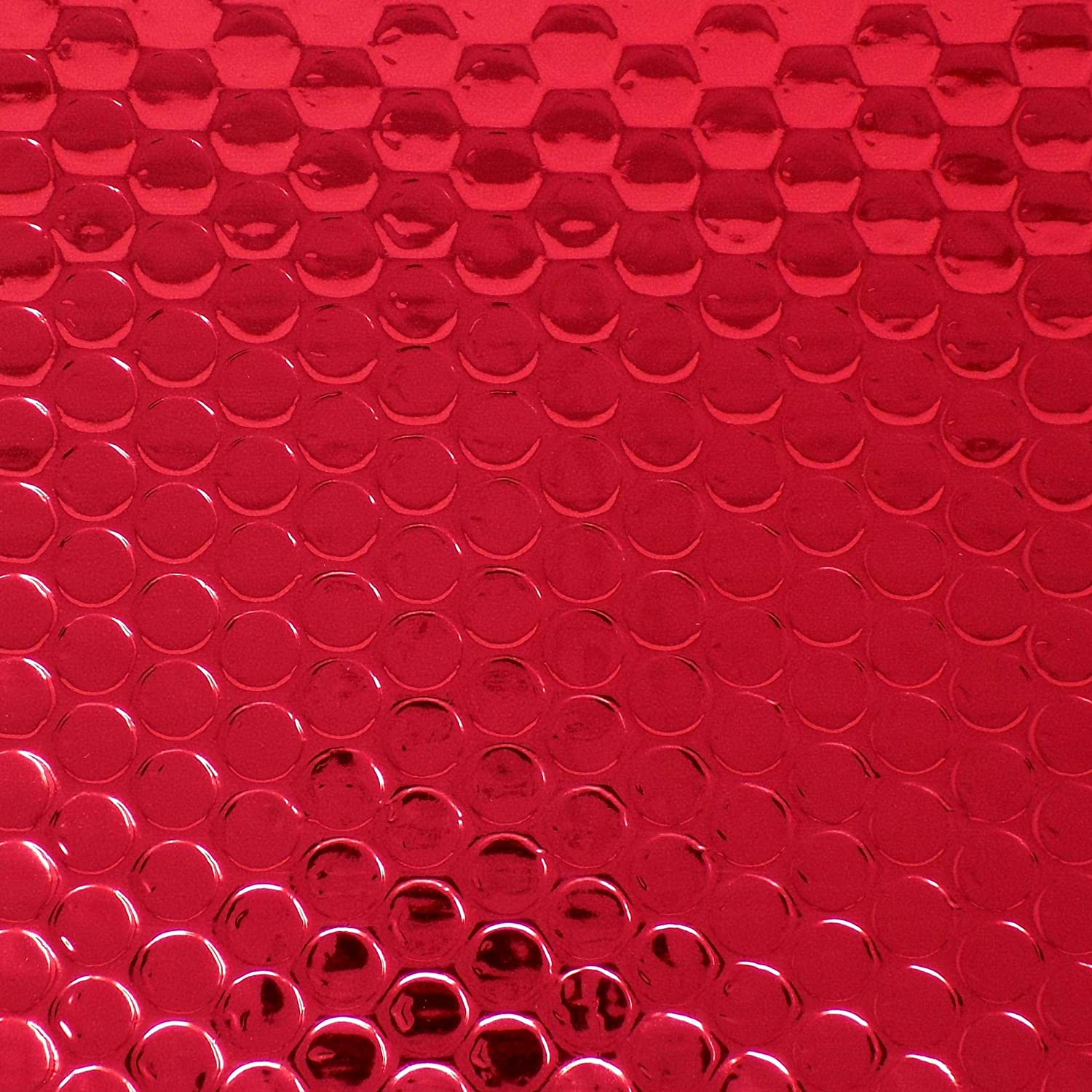 Perfect for marketing A4 // C4-324mm x 230mm promotions or and alternative to gift wrap EPOSGEAR 10 Red Shiny Metallic Foil Bubble Padded Bag Mailing Envelopes