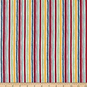 Wilmington Garden Charm Stripe Cream Quilt Fabric By The Yard