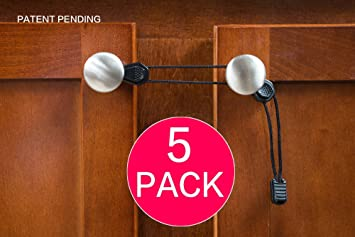 Amazon.com: Child Safety Cabinet Lock Ties – Secure Cupboards from ...