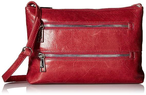 Amazon.com: HOBO Vintage Mara Handbag Cross Body, Carmine, One ...