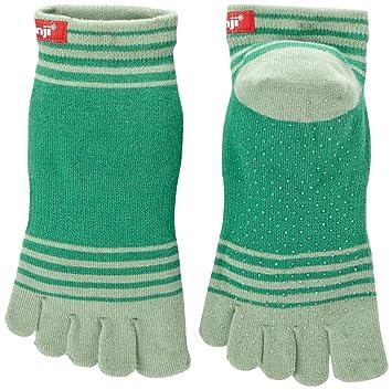 Injinji Yoga peso Original Micro Toe calcetines Coolmax W/Pinza Kelp grande