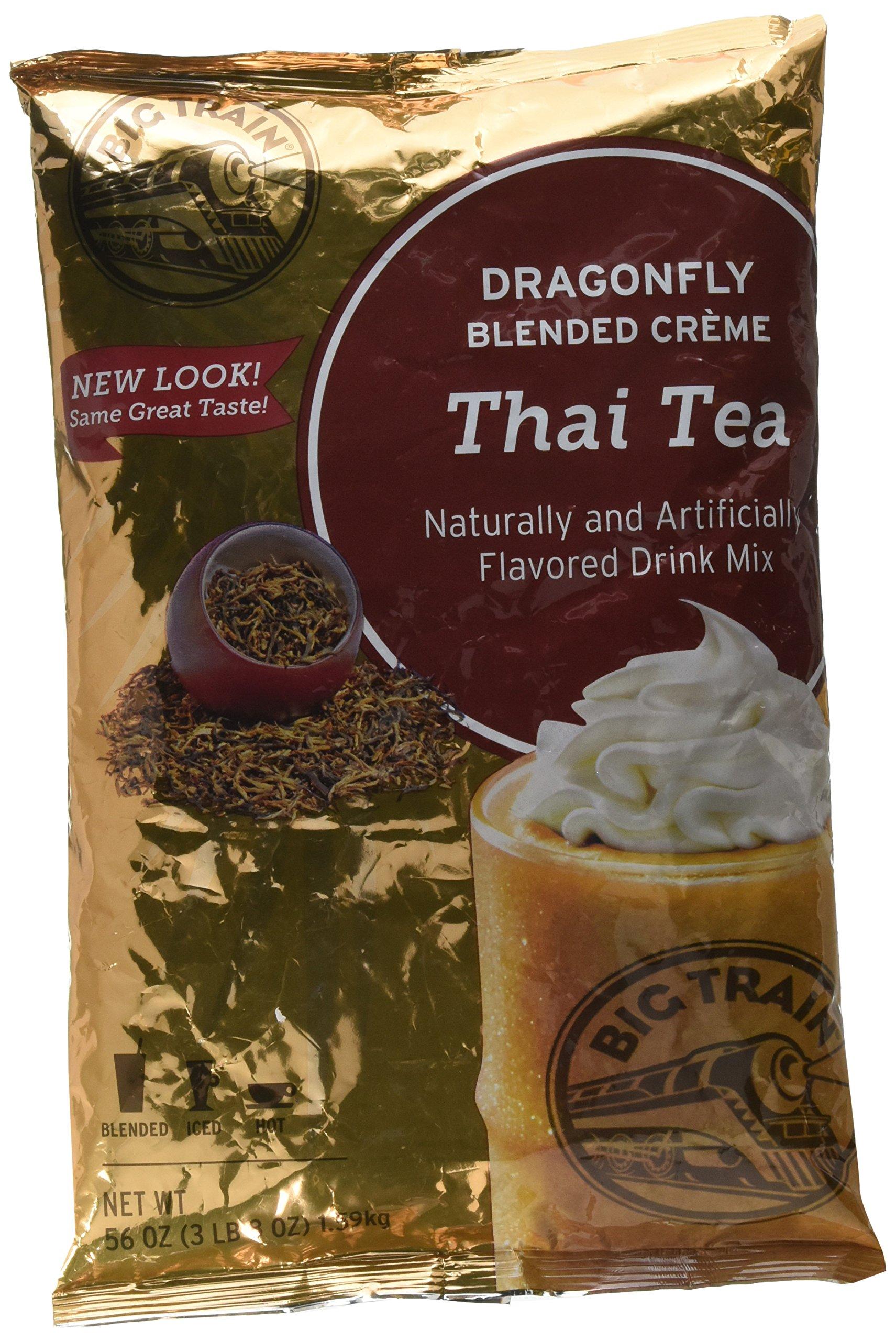 Big Train Dragonfly Thai Tea , 3.5 lb Bulk Bag by Big Train