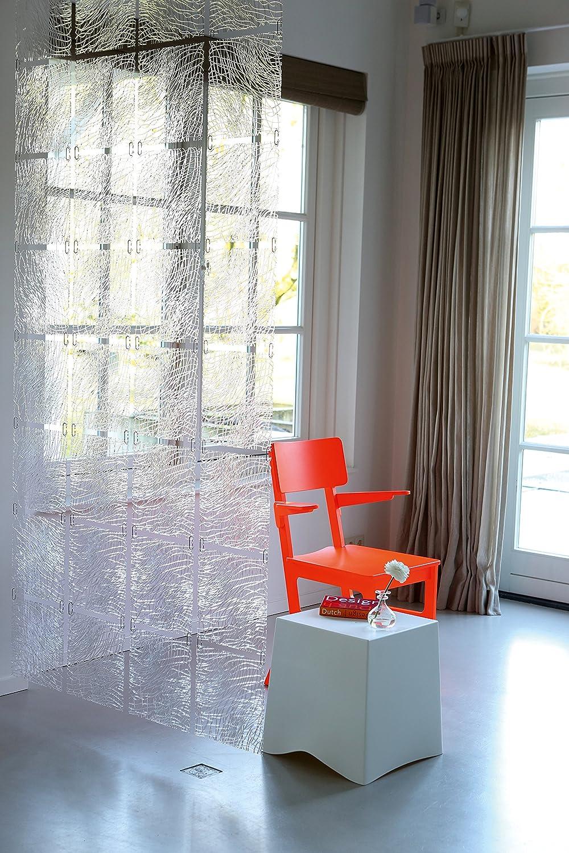 Koziol Silk B1, Elemento Decorativo per Tenda o Separè, Rosso ...