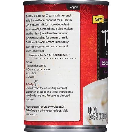 Amazon.com: Thai Kitchen Coconut Cream, 13.66 fl oz: Prime Pantry