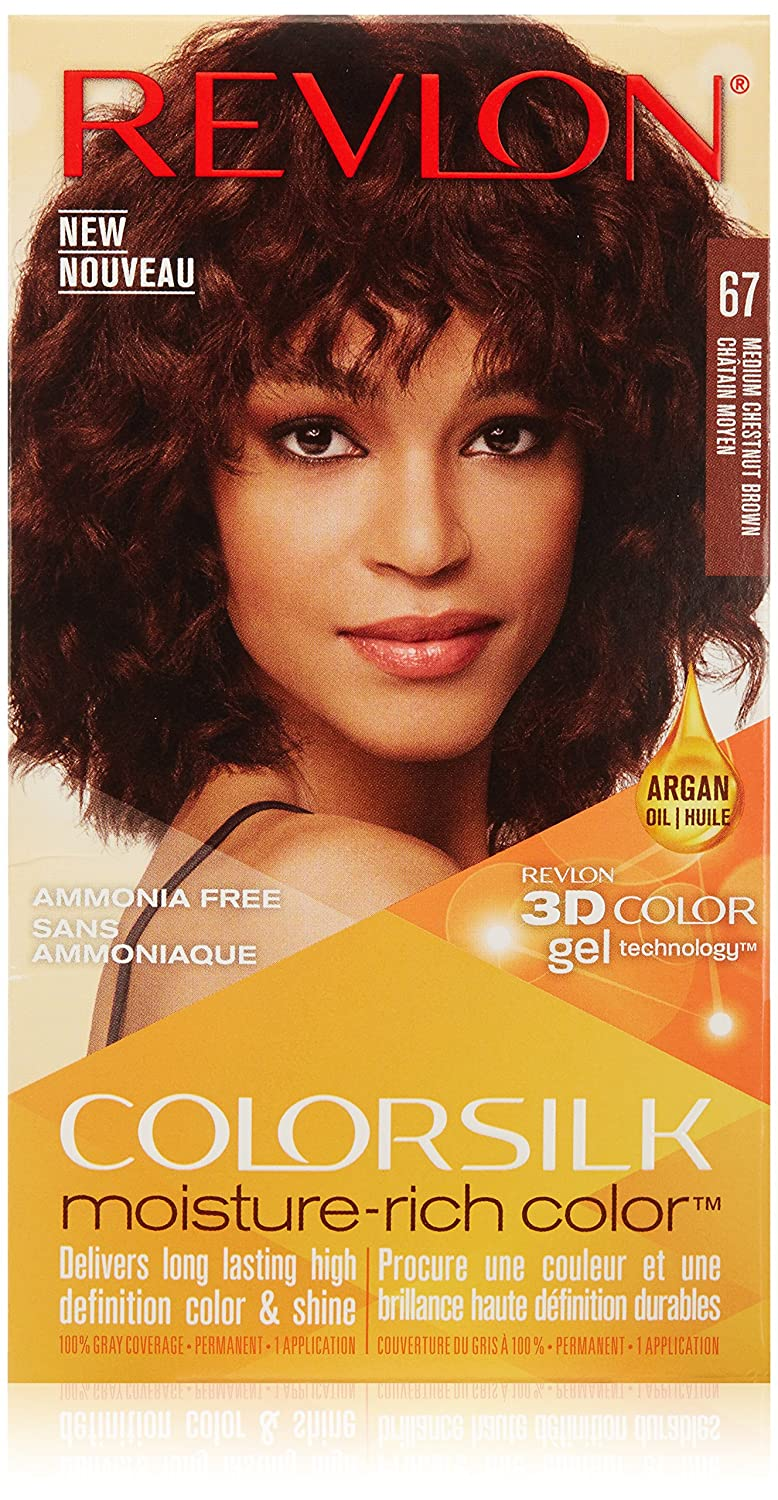 Amazon Revlon Colorsilk Moisture Rich Hair Color 67 Medium