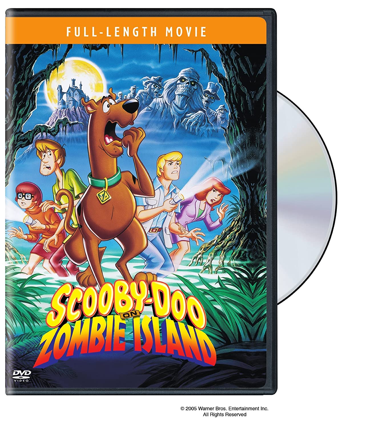 Scooby-Doo on Zombie Island Jim Cummings Billy West B.j. Ward Mary Bergman