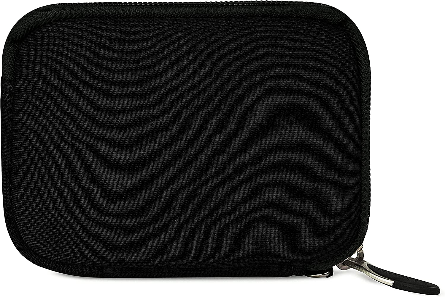 Black VanGoddy Mini Glove Sleeve Pouch Case for SVP WP6800 Waterproof Digital Cameras and Screen Protector
