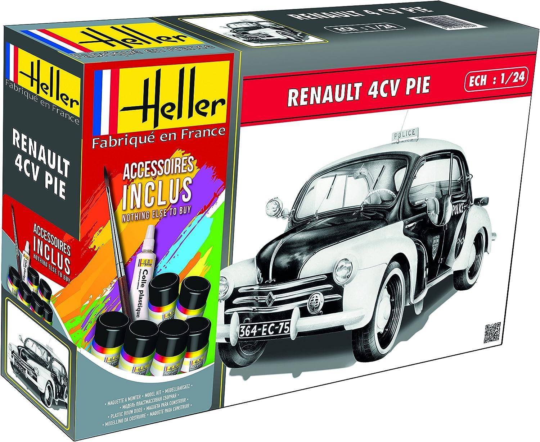 Heller HEL56764 Inexpensive Model Memphis Mall Kit Various
