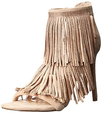 Steve Madden FRINGLY-R - Sandals Beige Women