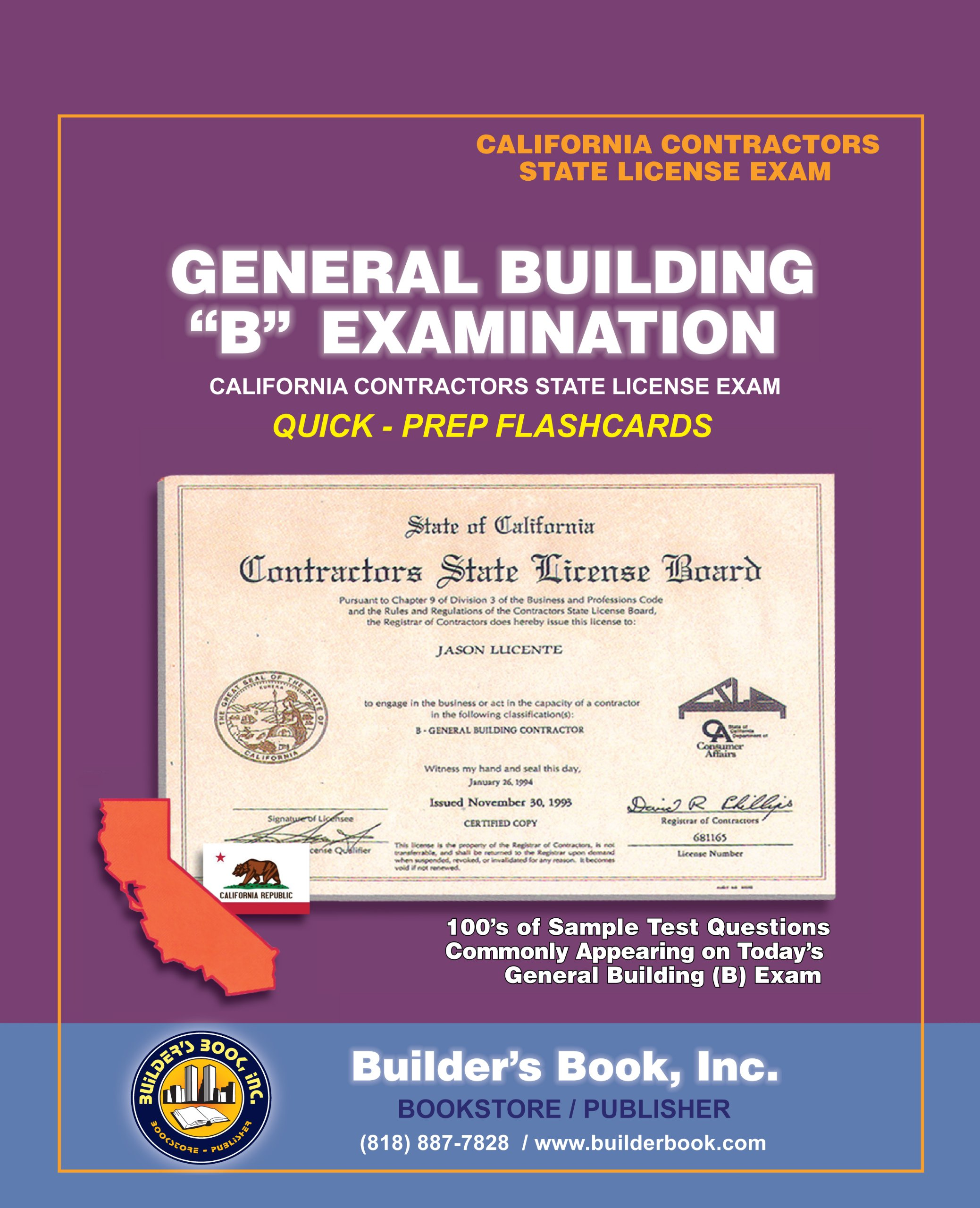 General Contractor Exam Sample Questions