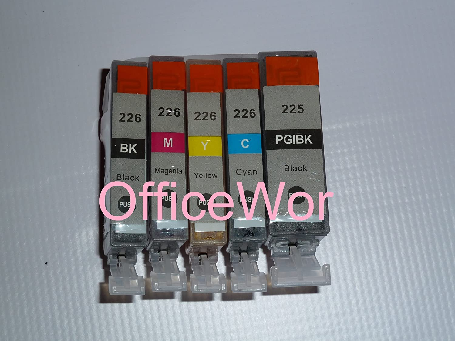 10 (2 each) Pack Non-OEM Ink for PGI-225 CLI-226 Pixma ip4820 iP4920 MG5120 MG5220