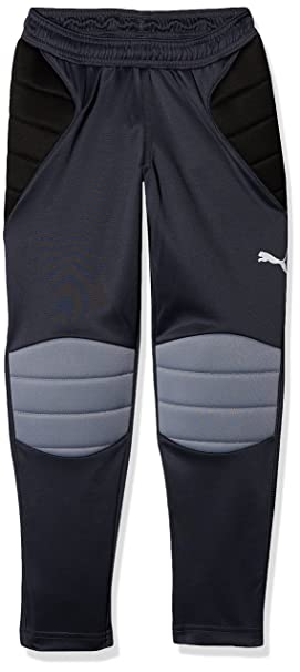 free shipping 48af2 ffcf4 Puma GK Padded Pants, Niños, Ebony Black Tradewinds, 128