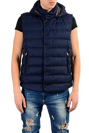 moncler blue vest