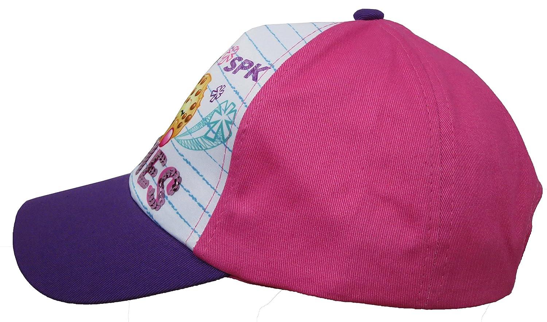 6014 Shopkins Poppy Corn and Kooky Cookie Girls Baseball Cap Size 4-14