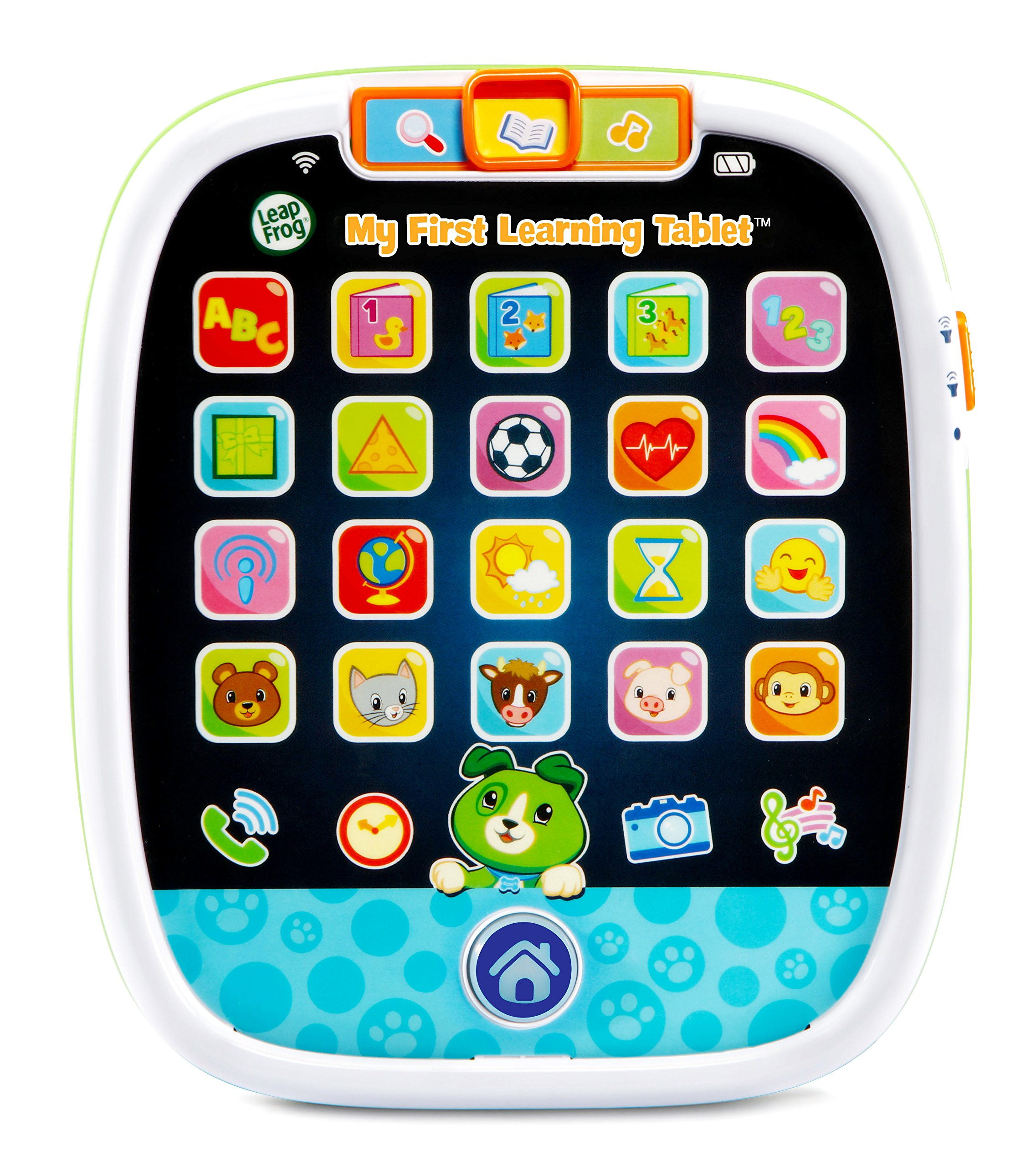 LeapFrog My First Learning Tablet, White and green by LeapFrog