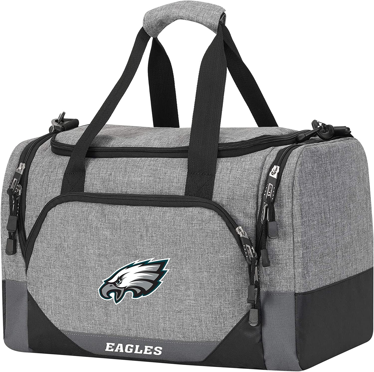 Grey Officially Licensed NFL Terrain Duffel 18 x 11 x 11 inches