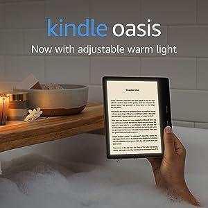 Kindle Oasis | Now with adjustable warm light | Waterproof, 32 GB, Wi-Fi | Graphite: Amazon.co.uk: Amazon Devices
