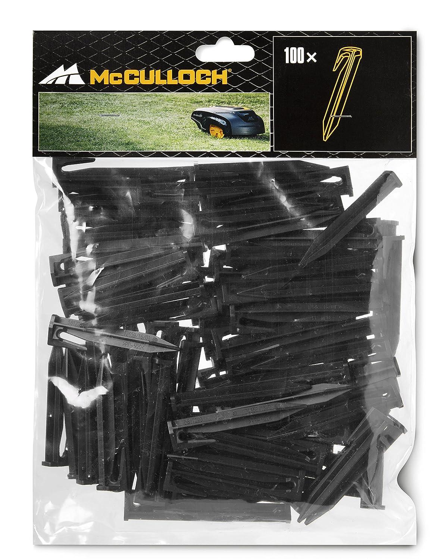 Mcculloch 589402601 Sac de 100 enjeux pour Rob noir