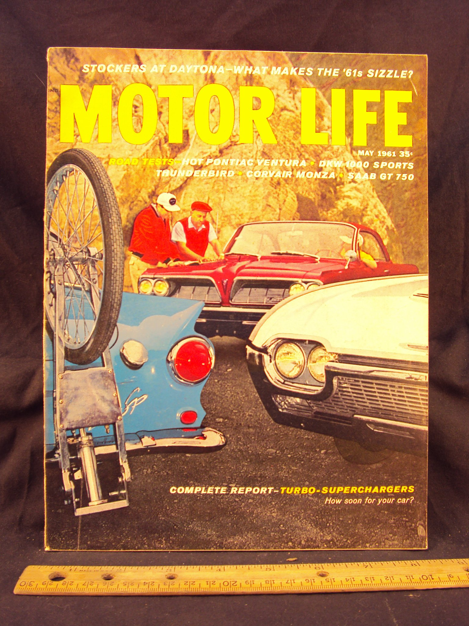 1961 61 May MOTOR LIFE Magazine, Volume 10 Number # 10