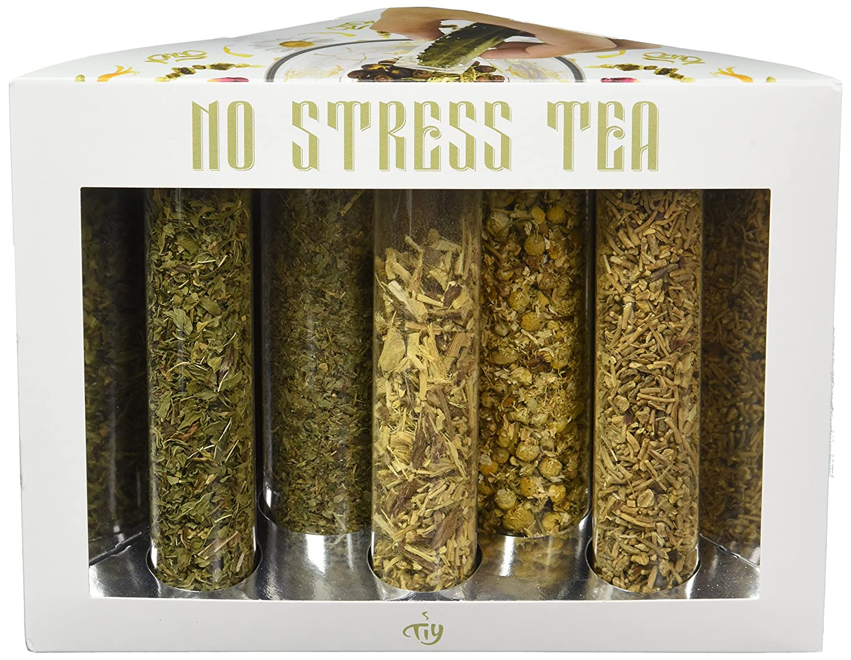 Tea It Yourself Tiy 8 Flavors Organic Herbal Tea Blending Kit Make Your Own Tea No Stress Herbal Tea Kit Amazon Com Grocery Gourmet Food