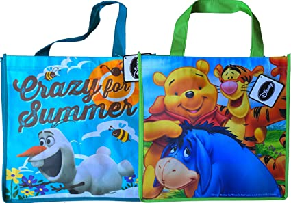 Reutilizable Bolsa bolsas Disney Frozen Olaf y Winnie the ...