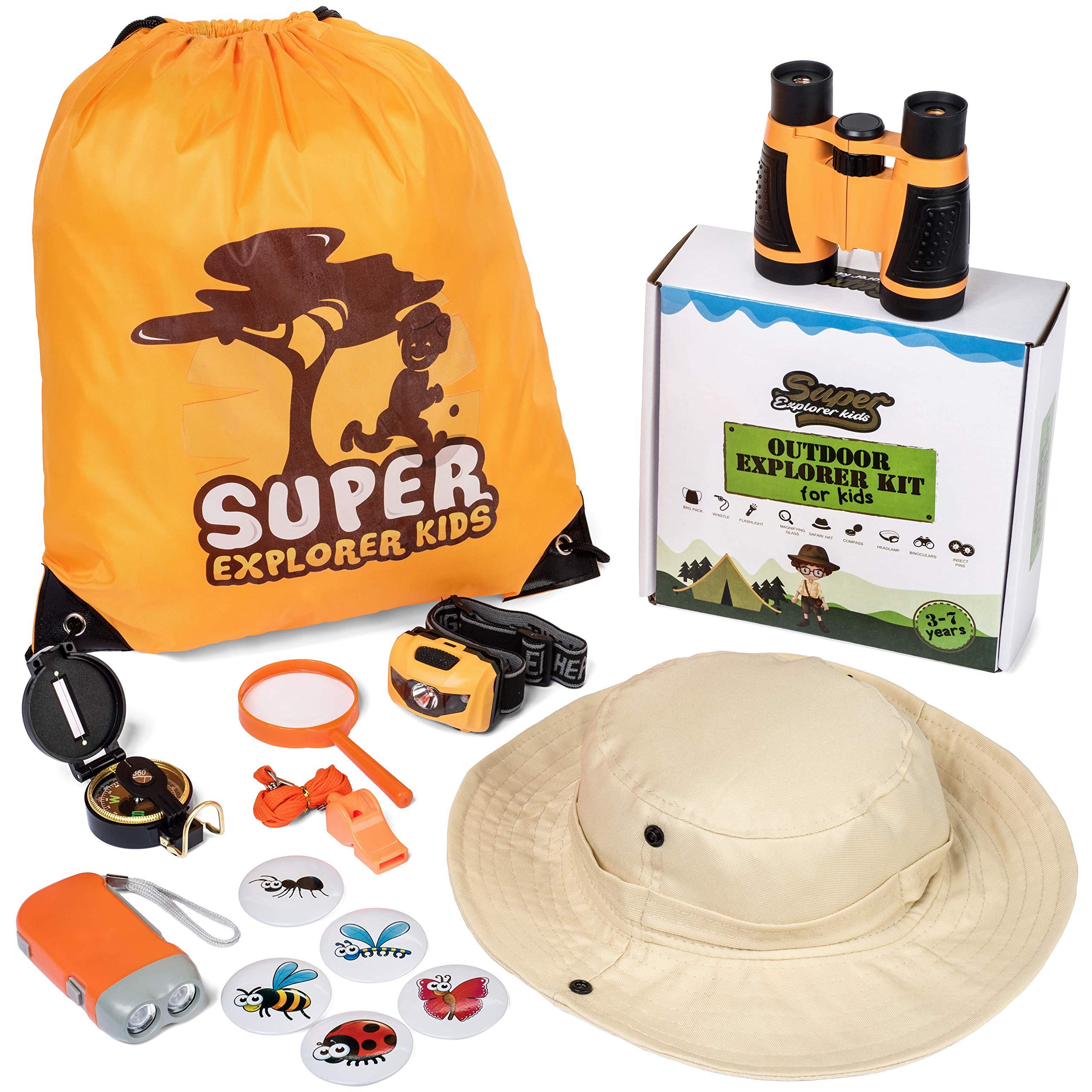 SuperExplorerKids Outdoor Explorer Kit by SuperExplorerKids